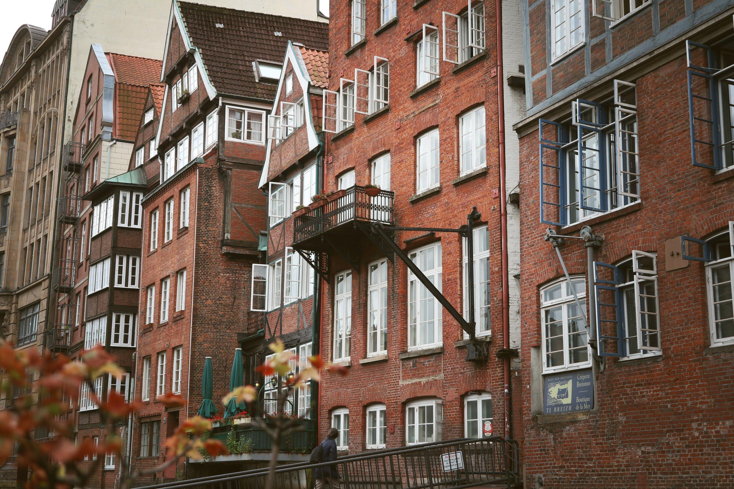 urban apartment buildings