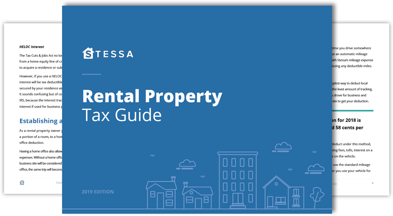 Rental Property Tax Deductions The Ultimate Tax Guide 2020 Edition Stessa