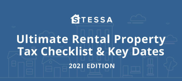 Key 2021 tax deadlines & check list for real estate investors