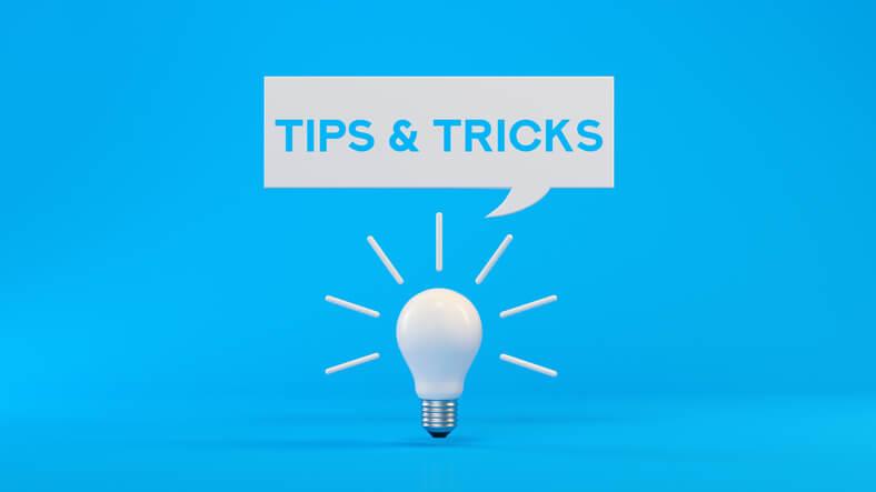 tips and tricks lightbulb