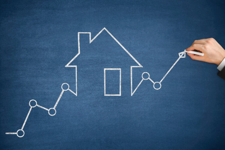 rising house rates